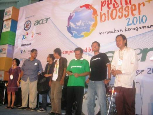 Parade Pemenang Apresiasi Blogger